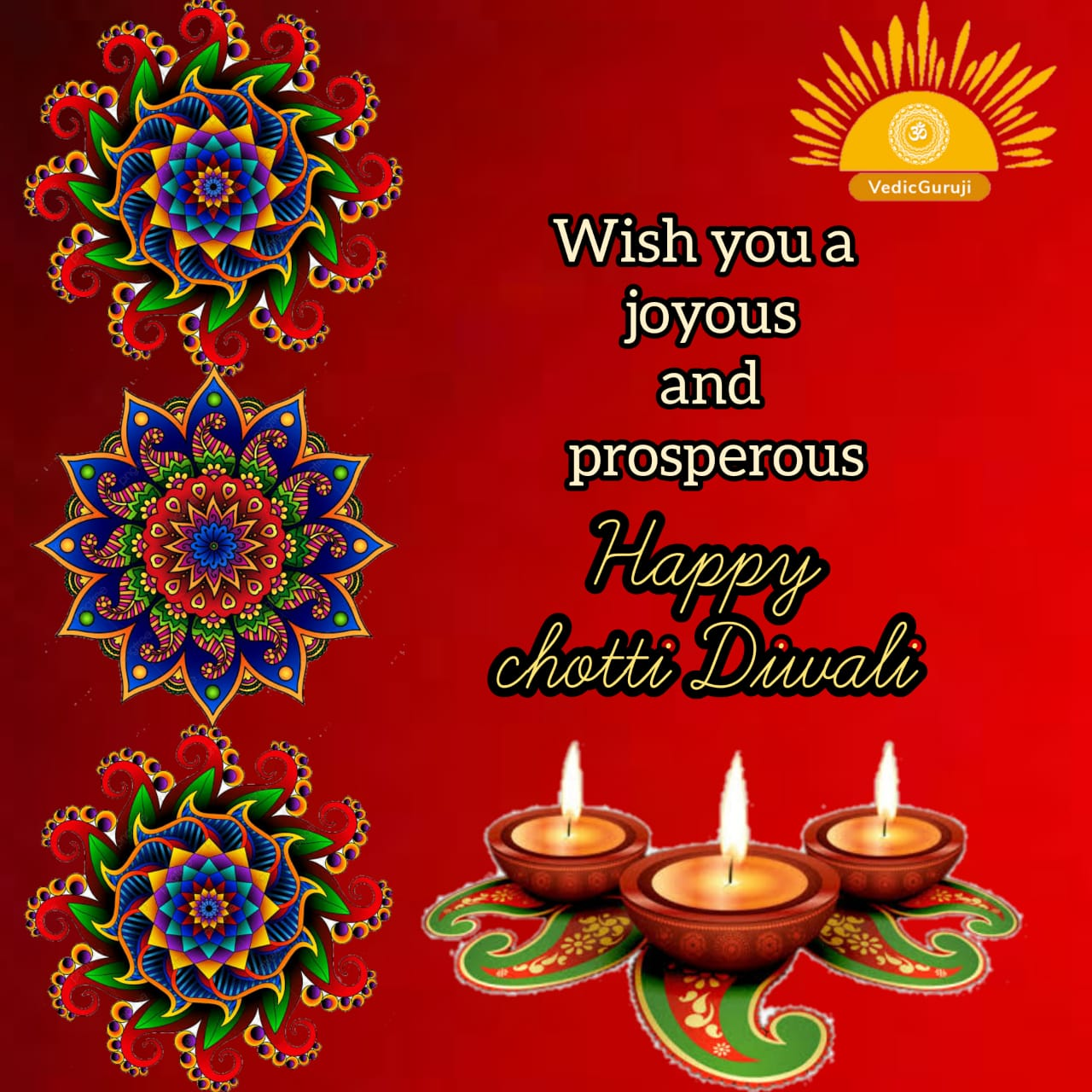 Choti Diwali and its significance