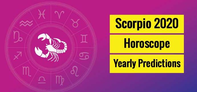 Scorpio Horoscope Predictions 2020