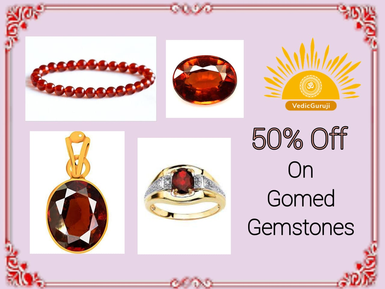 Gomed Hessonite Gemstone Benefits