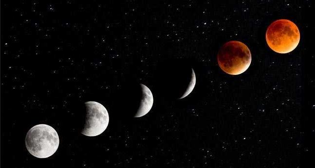 Chandra Grahan 2020 first lunar eclipse